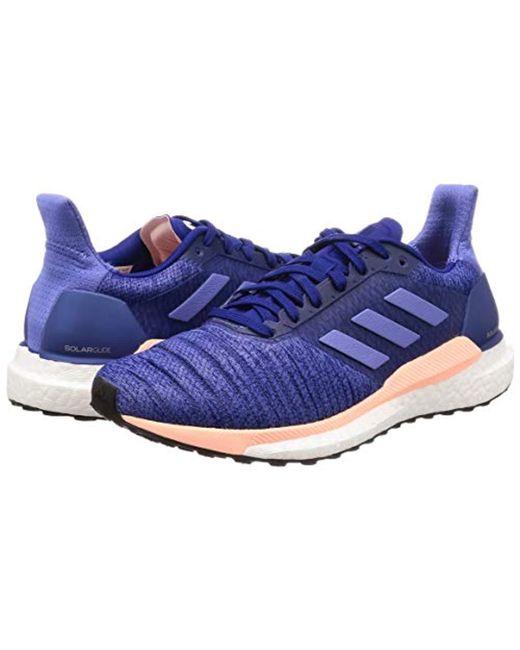 49a82f57c9dbb ... Adidas - Blue Solar Glide W Trail Running Shoes - Lyst ...