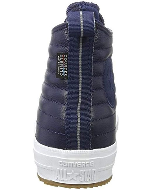 414c1f2c5db5 ... Converse - Blue Adults  Ctas Wp Boot Hi Midnight Navy wolf Grey Top  Trainers ...