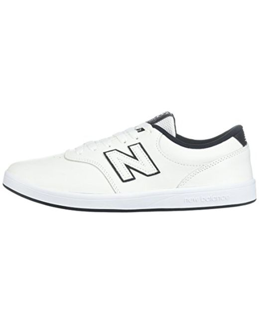... New Balance - White 424v1 Lifestyle Skate Numeric Sneaker for Men -  Lyst ...