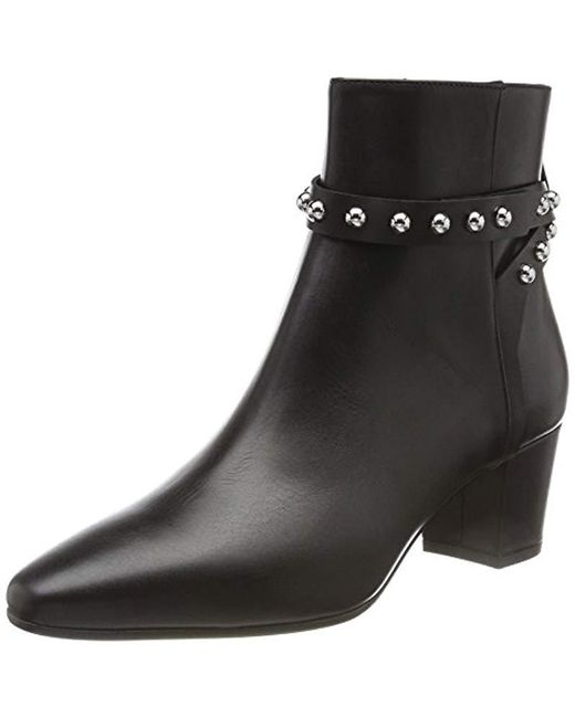 HUGO - Black ''s Shoreditch Bootie-c Ankle Boots - Lyst
