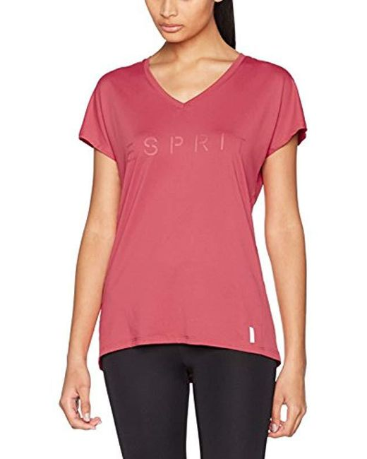 Esprit - Red Sport Shirt - Lyst