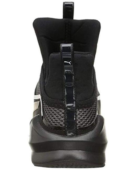 375be4ba5aaf71 ... PUMA - Black Fierce Knit Cross-trainer Shoe - Lyst ...