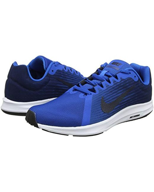 9f90e59e37266 Nike Downshifter 8 Running Shoes in Blue for Men - Save 44% - Lyst