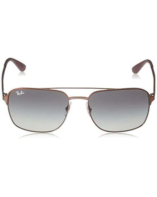 e96eb7c62f Lyst - Ray-Ban Rb3570 Sunglasses in Brown for Men - Save 20%