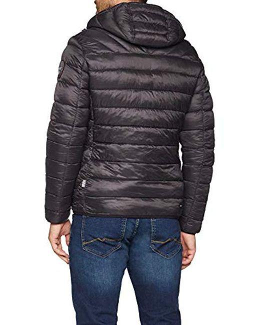 a33ce79a83e77 Napapijri Aerons Hood Jacke Jacket in Gray for Men - Save 6% - Lyst