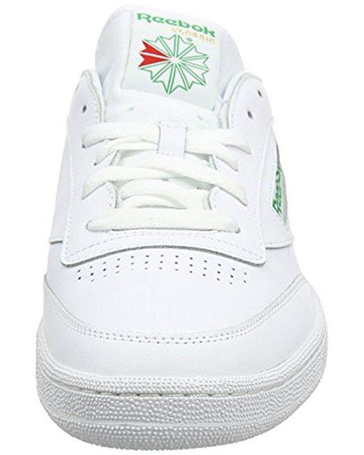 db0aa297bb006b Lyst - Reebok Club C 85 Fashion Sneaker in White for Men - Save 30%