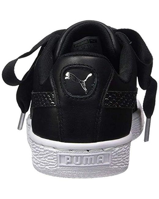 43301067980 ... Lyst PUMA - Black Basket Heart Oceanaire Wn s Trainers ...