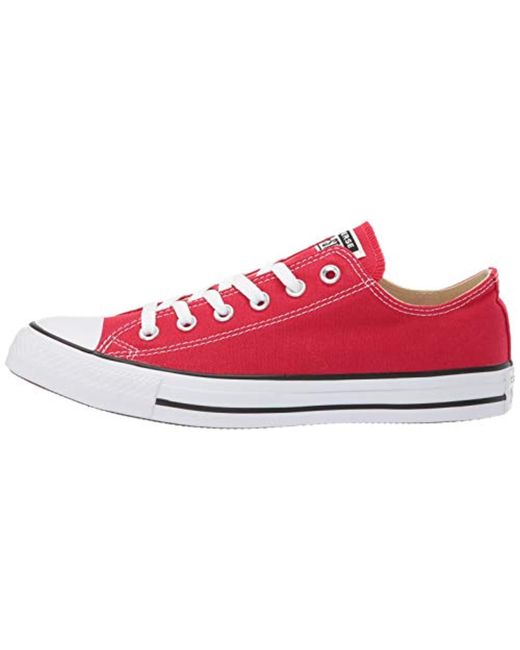 cea30276b3298a ... Converse - Red Unisex Chuck Taylor As Double Tongue Ox Lace-up for Men  ...