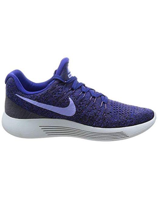 538c0502af6e ... Nike - Blue W Lunarepic Low Flyknit 2 Trail Running Shoes - Lyst ...