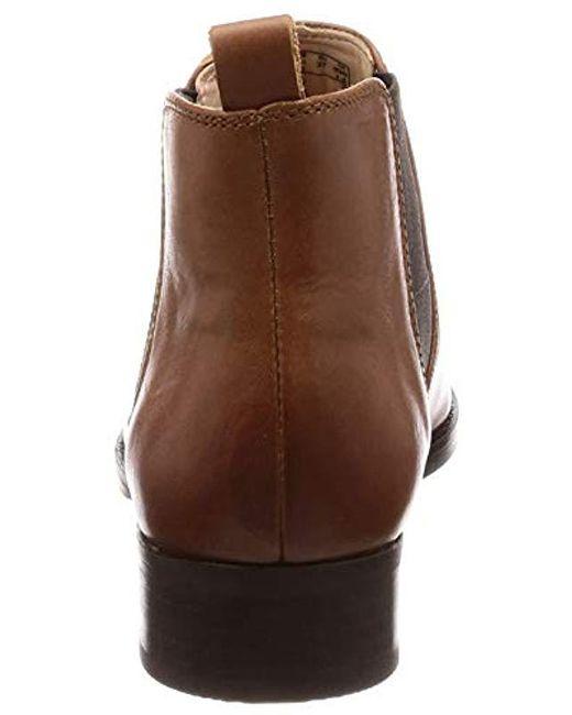 fc141bd27fc8 ... Clarks - Netley Ella Biker Boots Brown - Lyst ...