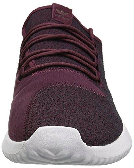 lyst adidas originali per scarpe da ginnastica in viola per gli uomini ombra