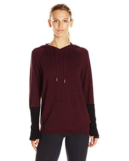 CALVIN KLEIN 205W39NYC - Multicolor Performance Sweater Knit Hooded Top - Lyst