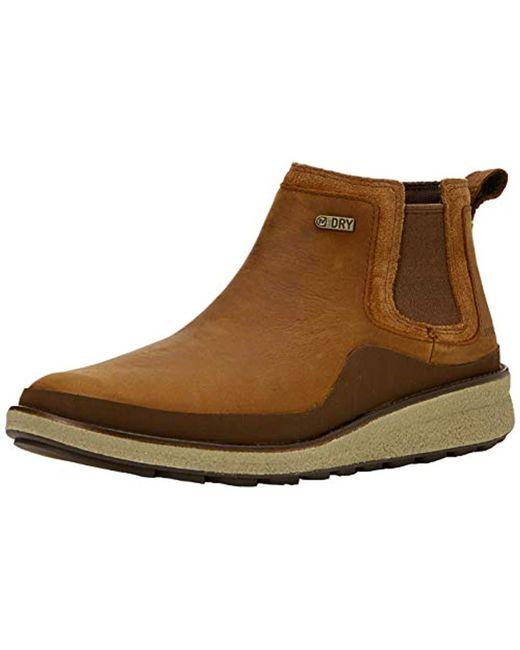 Merrell - Brown Tremblant Ezra Chelsea Wp Boots - Lyst