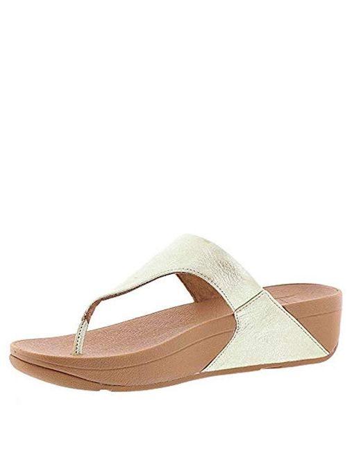 297ae90eae53ef ... Fitflop - Multicolor The Skinny Leather Toe-thong Sandal - Lyst ...