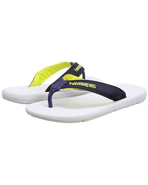 9e075200fc0b4 ... Havaianas - Blue Surf Pro Flip Flops for Men - Lyst ...