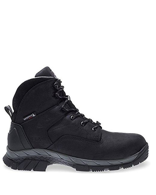 """Wolverine - Black Glacier Ice Insulated Waterproof 6"""" Comp Toe Work Boot for Men - Lyst"""