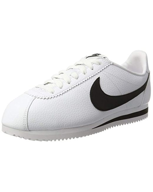 quality design e870f 4c01c Nike - White Classic Cortez Leather Casual Trainers for Men - Lyst ...