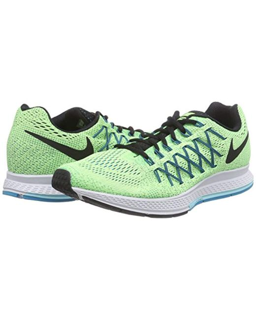 d8977a14d65 ... Nike - Green Air Zoom Pegasus 32 Running Shoe for Men - Lyst ...