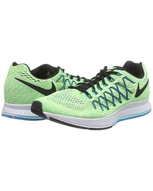 d8977a14d65 ... Nike - Green Air Zoom Pegasus 32 Running Shoe for Men - Lyst ...