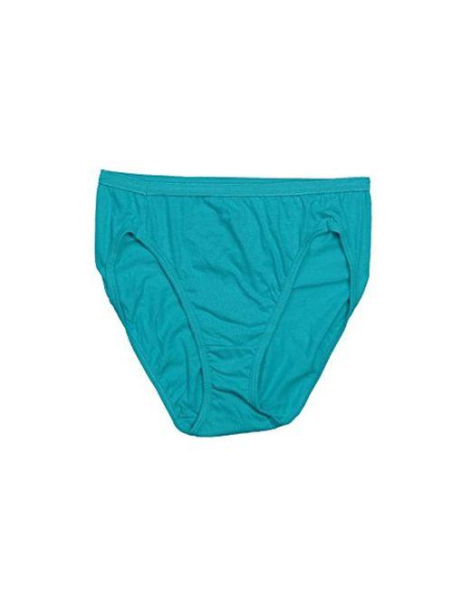 fc64078d79a6 ... Hanes - Blue Cotton Hi Cut Panty Multipack - Lyst ...