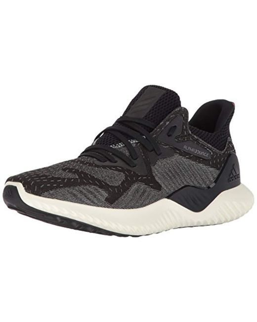 the latest 94f12 d6902 Adidas Originals - Black Alphabounce Beyond Running Shoe for Men - Lyst ...