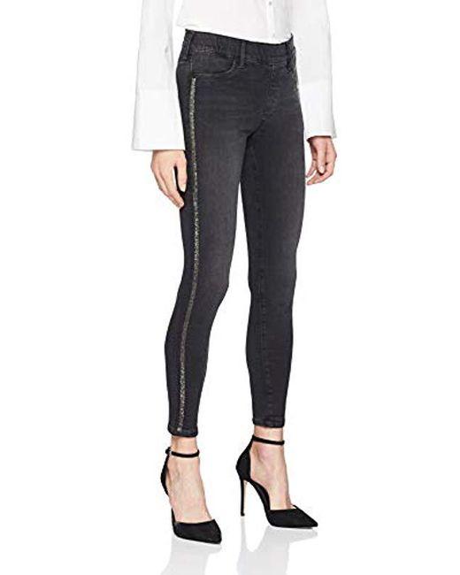 7ca9d2caa272c True Religion - Black Jegging Stretch Skinny Jeans - Lyst ...