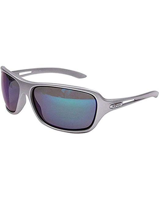Oakley - Blue Revo Highside L Re4049-05 Polarized Rectangular Sunglasses for Men - Lyst