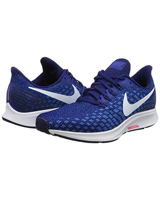 ac7d8eb6437 ... Nike - Air Zoom Pegasus 35 Running Shoes Indigo Force white photo Blue  Void ...