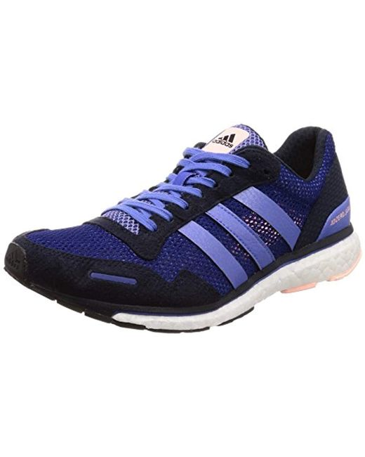 a955e43db61 Adidas - Adizero Adios 3 W Training Shoes Blue - Lyst ...