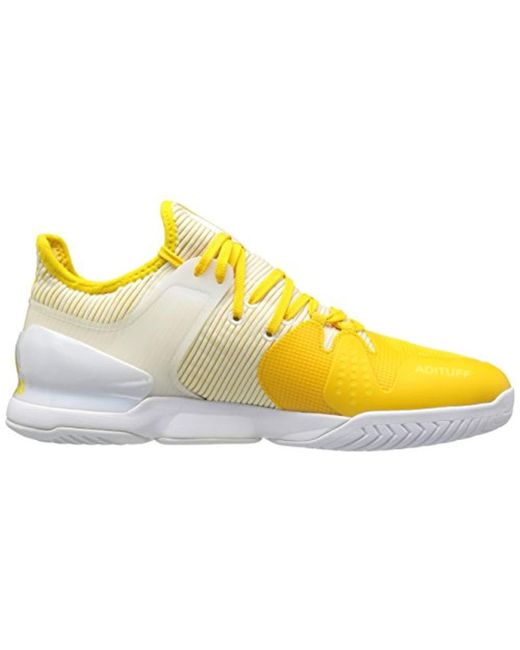 43df6df8468 ... Adidas - Yellow Adizero Ubersonic 2 Tennis Shoe for Men - Lyst ...