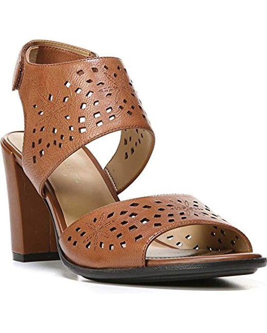 c07f5b890c67 Naturalizer - Brown Zinna Dress Sandal - Lyst ...