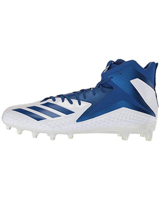f8ca5dcad99ed adidas Performance Freak X Carbon Mid Football Shoe in Blue for Men ...