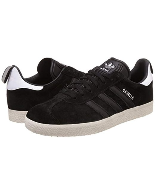 adidas Gazelle, Unisex Adults' Low Trainers in Black Lyst