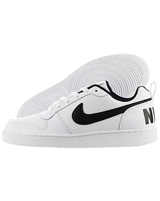ba78249299ce Nike - White Court Borough Low Running Shoe for Men - Lyst ...