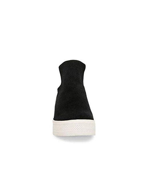 8ea0bab448a Lyst - Steve Madden Wrangle Sneaker Black Suede in Black - Save 1%
