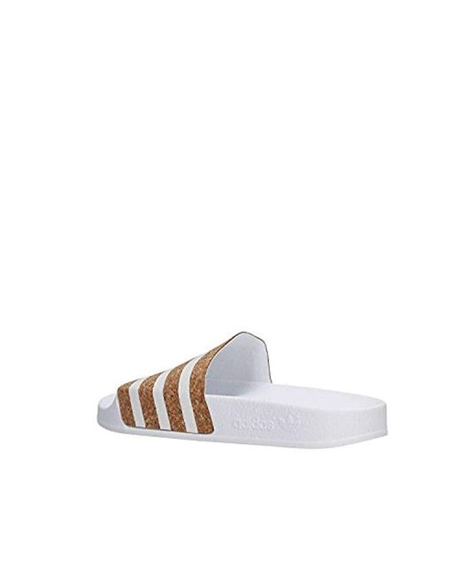 on sale 13197 d1580 ... Adidas - White Adilette W Water Shoes - Lyst ...