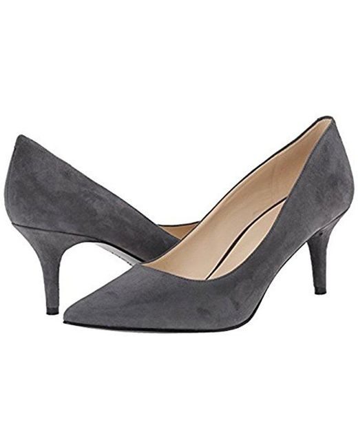 Nine West - Gray Margot Reptile Dress Pump - Lyst