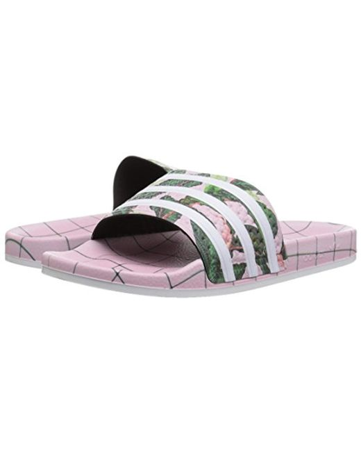 ... Adidas - Multicolor Originals Adilette Slip-on Slides for Men - Lyst ... 0b8b09d67