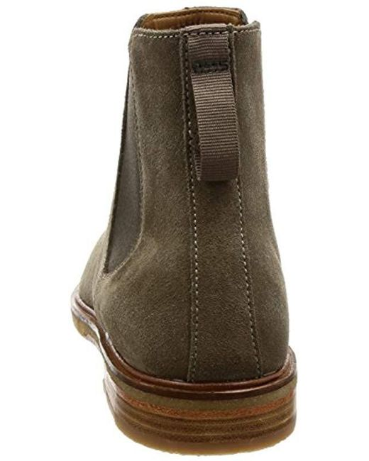ed287ab9285219 Clarks  s Clarkdale Gobi Chelsea Boots in Green for Men - Lyst