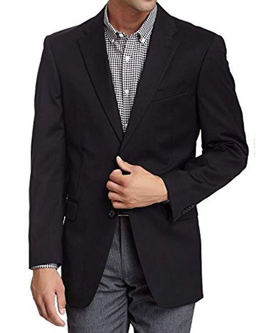 Tommy Hilfiger - Black Two-button Trim-fit Suit Separate Coat for Men - Lyst