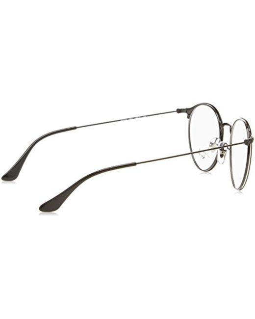 3710a8073f1e1 ... Ray-Ban - Rx6378 Glasses In Black Matte Black Rx6378 2904 49 - Lyst ...