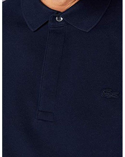 f3d6c52675 Paris Polo Homme Lacoste pour homme en coloris Bleu - Lyst
