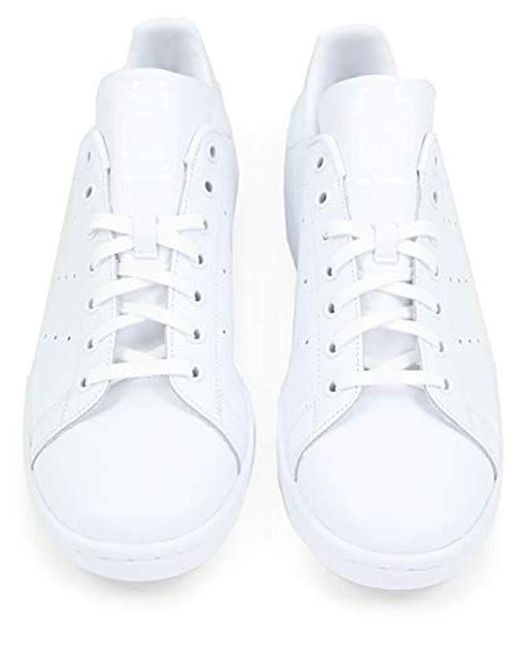 low priced 0b21c 55843 ... Adidas - White Stan Smith 104 Running Shoes for Men - Lyst ...