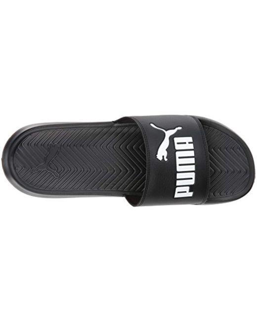 54d6fcd3457 ... PUMA - Black Popcat Slide Sandal