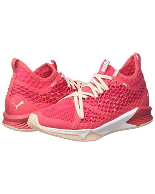 c44cd1aa5ec PUMA Ignite Xt Netfit Wn s Cross Trainers in Pink - Lyst