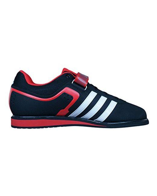 Lyst adidas performance trainer scarpa in nero per gli uomini.