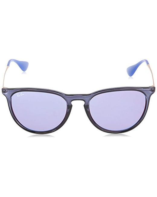 1089fead83 ... promo code for ray ban. womens erika sunglasses in transparent blue  4d356 ebfd2
