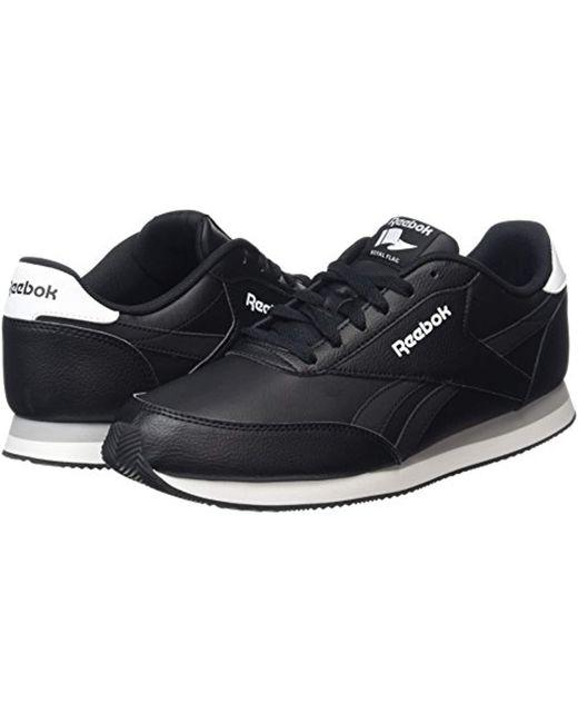 a9726791d73a8 Reebok Royal Cl Jog 2l Running Shoes in Black for Men - Save 35.0 ...