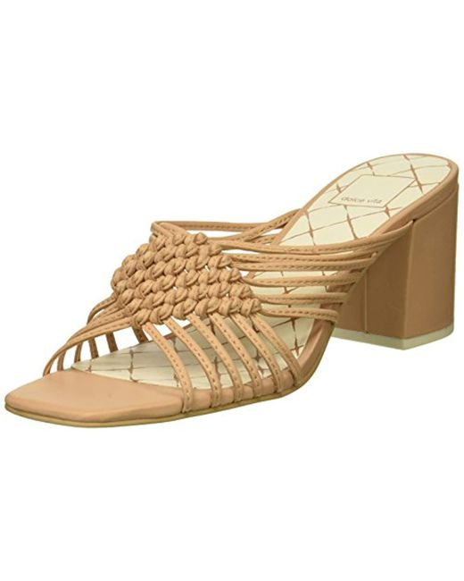 Dolce Vita - Natural Delana Slide Sandal - Lyst
