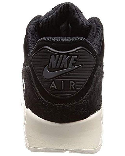 Nike Wmns Air Max 90 LX (Black Black Sail Sail)